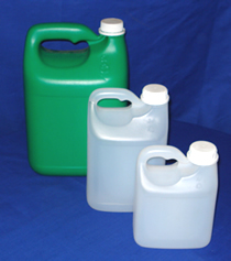 1, 2 and 5 litre HDPE Bottles