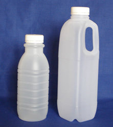 500ml and 1 litre dairy milk bottles