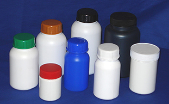 Vitamin and tablet containers